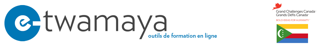MHGAP-COMORES : OUTILS DE FORMATION EN LIGNE Logo